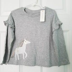 Gymboree girls unicorn tee shirt 3T